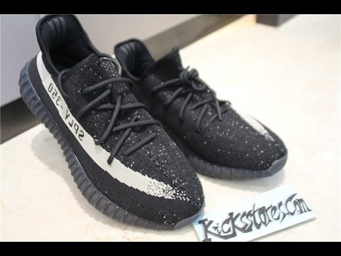eff622a17 Adidas Yeezy Boost 350 V2 Black  White Review
