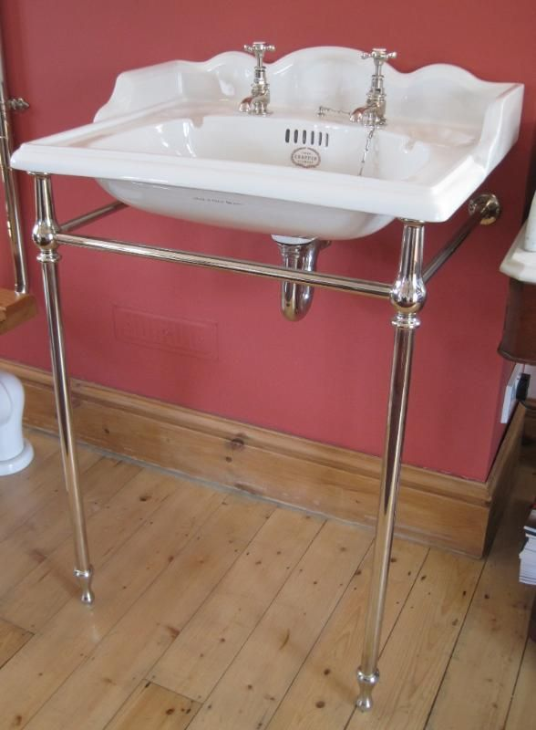 Thomas Crapper 25inch Washbasin Stand Set,sink,bathroom,victorian,wc,high  Level,ukaa,uk,buy,sell,for Sale,shop,online,thomas Crapper,