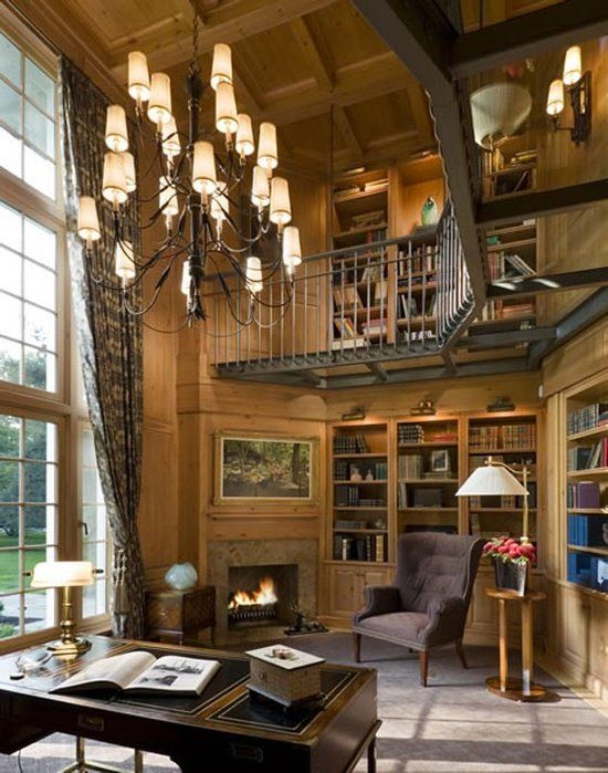 50 Super ideas for your home library The natural Walkways and