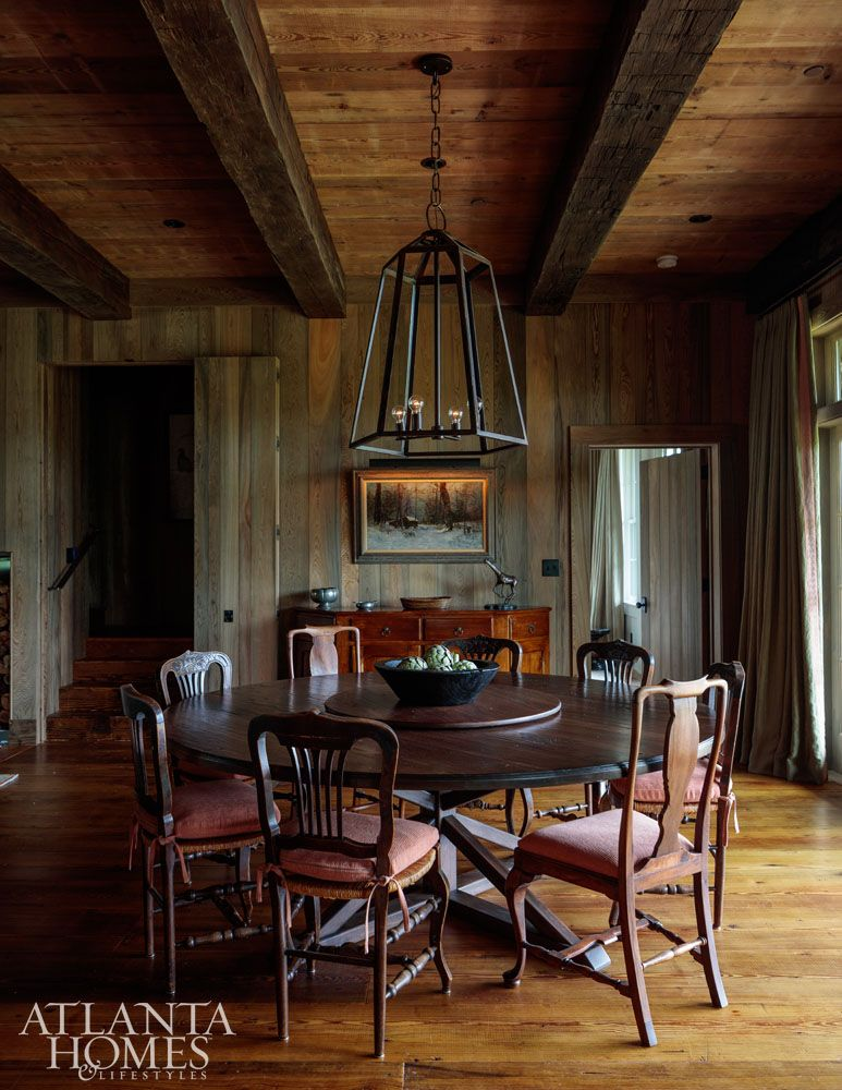Exceptionnel In This Keith Summerouru2013designed Hunting Retreat, Designer Melanie Millner  Of The Design Atelier Enlisted Atlanta Furniture Designer Kevin Scanlon To  Build ...