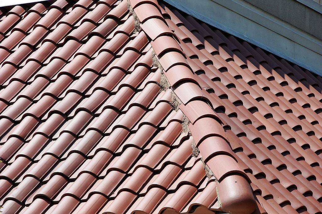 Hardscaping 101 Clay Roof Tiles Gardenista In 2020 Solar Shingles Best Solar Panels Roof Repair