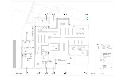 New Public Library Zoersel,Floor Plan