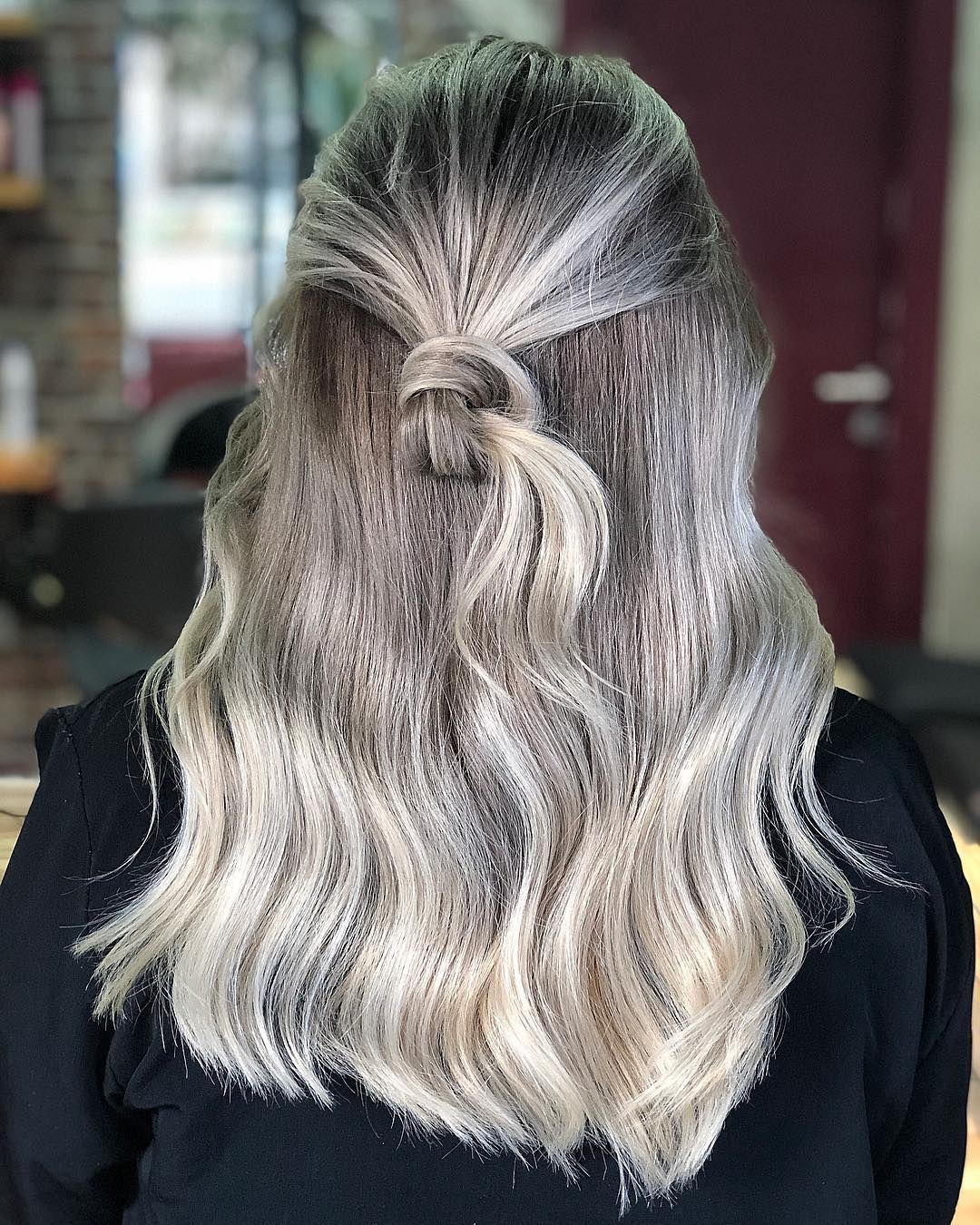 Kullu Sari Platin Sac Ombre Balyaj Brushlight Hair Kullu Sari