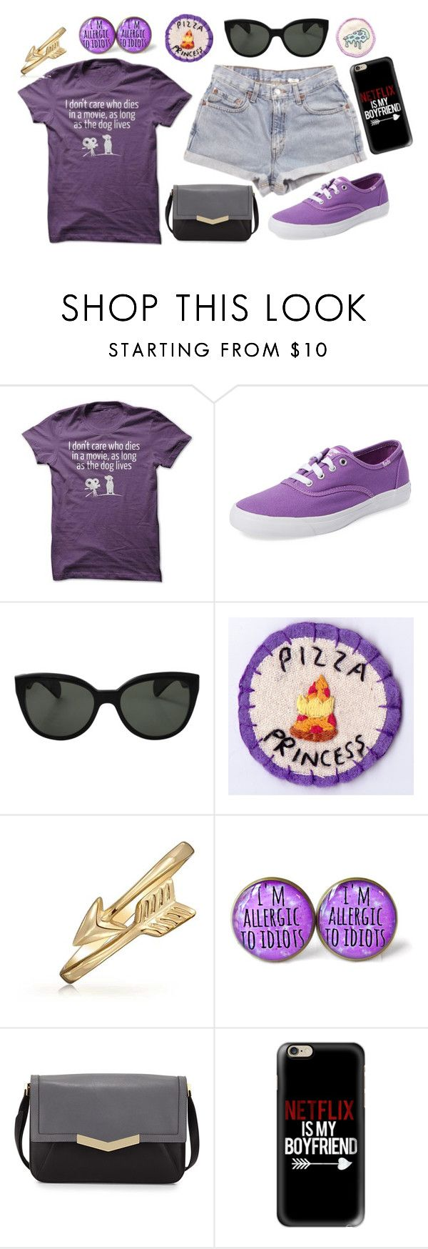 """I'm pretty much an Avenger."" by peregrinetook ❤ liked on Polyvore featuring Levi's, Keds, Oliver Peoples, Bling Jewelry, Time's Arrow and Casetify"