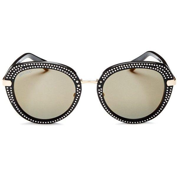 998b7d2c20 Jimmy Choo Mori Round Sunglasses