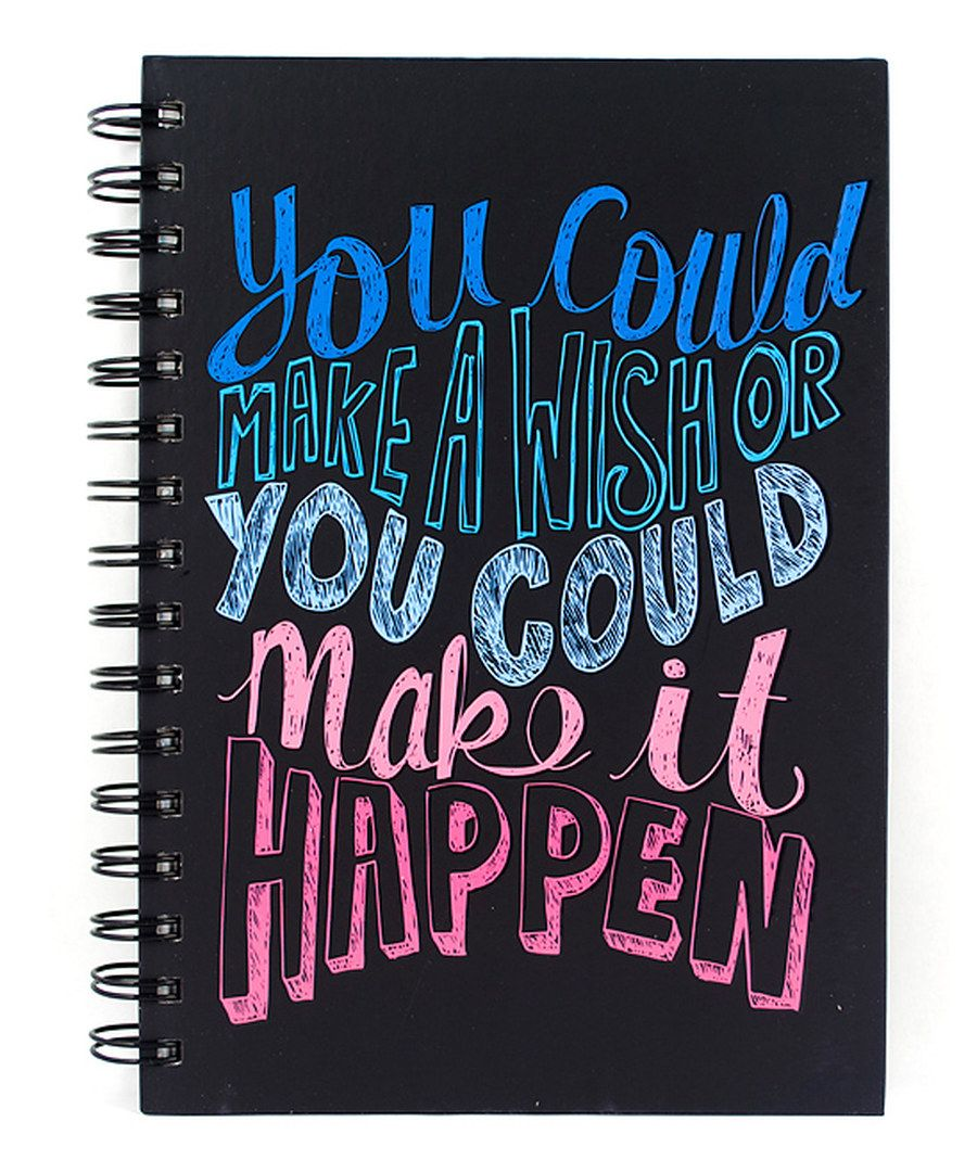 Write Notes, Homework Assignments And Other Musings (maybe The Next Great  American Novel) In This Spiral Bound Journal That Has An Inspiring Cover.