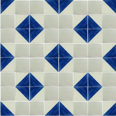 Talavera Ceramics Tile Is Hand Painted In A Creamy White Background This