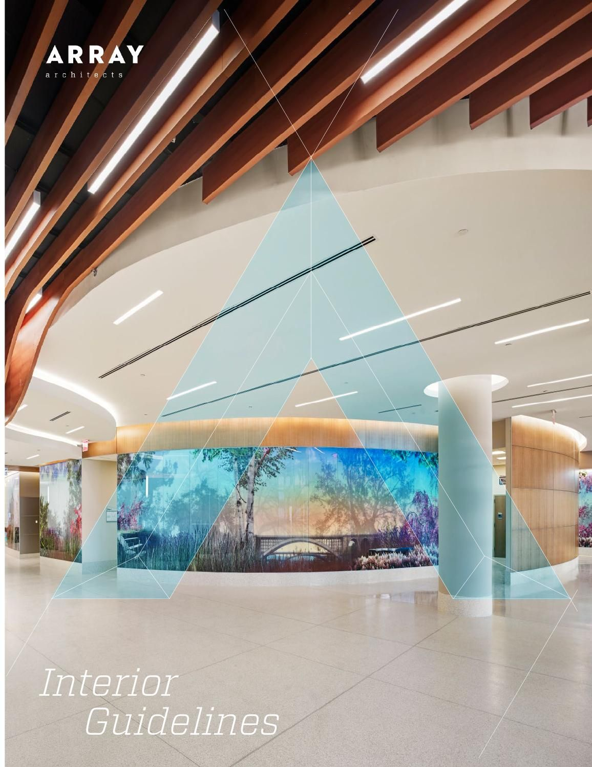 Array Architects Interior Guidelines Healthcare Interior Design Architect Architect Design