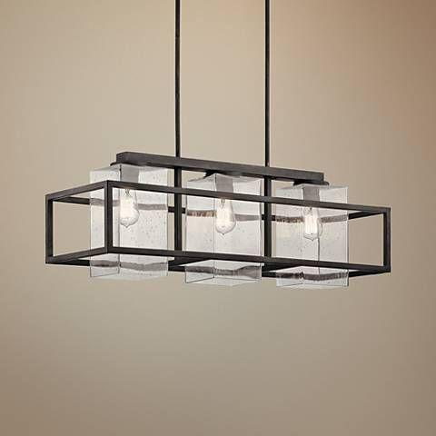 Wright 36 Wide Zinc Outdoor Kitchen Island Light Chandelier 20e34 Lamps Plus In 2020 Iron Chandeliers Chandelier Chandelier Lighting Fixtures