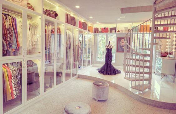 The Biggest Closet In The World Is Up For Sale! | Closet Designs, Luxury  And House