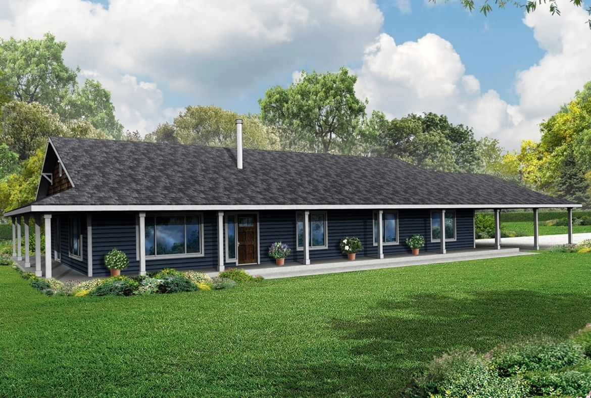 Adding A Back Porch To One Store House House Plans Farmhouse With Wrap Around Porch Telstra Us Pl Ranch Style House Plans Porch House Plans Ranch Style Homes