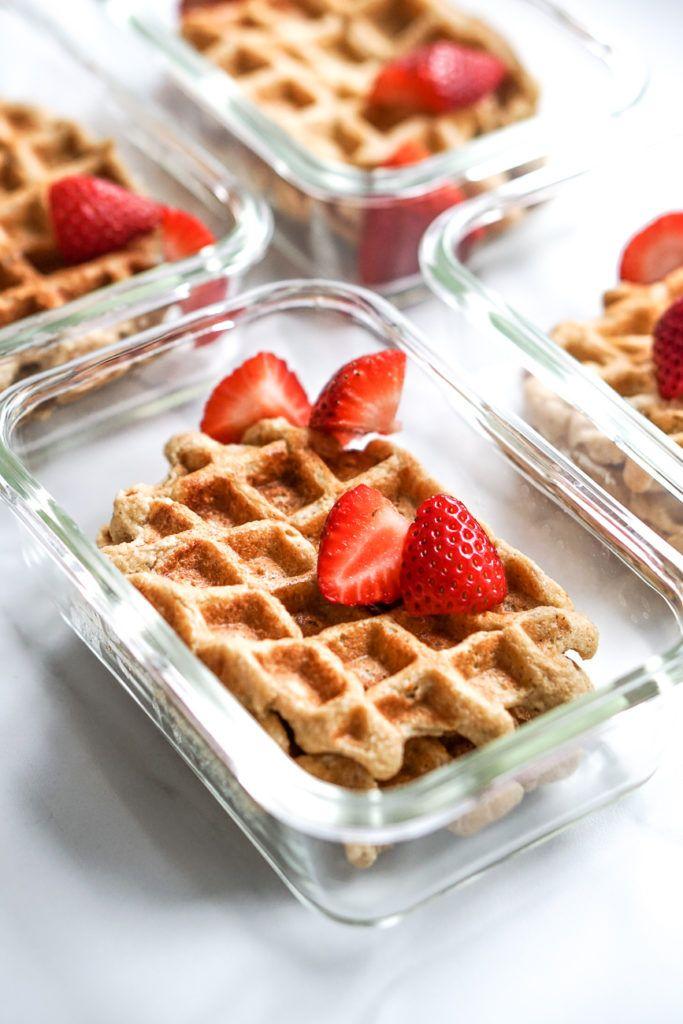 Photo of Meal Prep: Breakfast Waffles – Julie Feels Good