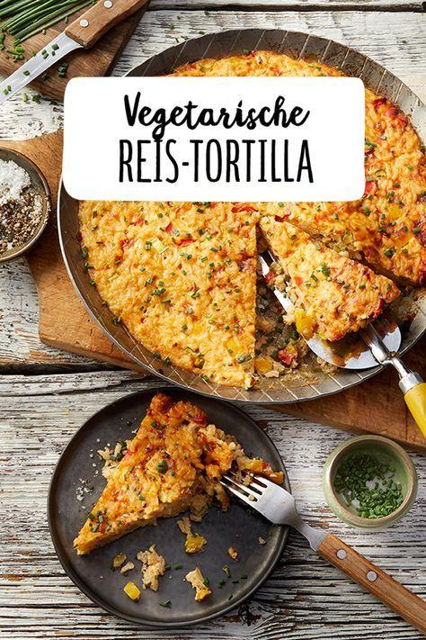 Vegetarische Reis Tortilla Veggie Ohne Fleisch Leckeres Abendessen Mittagessen Backen Kochen Reistortilla Tortilla Reis Vege Leckeres Abendessen Mittagessen