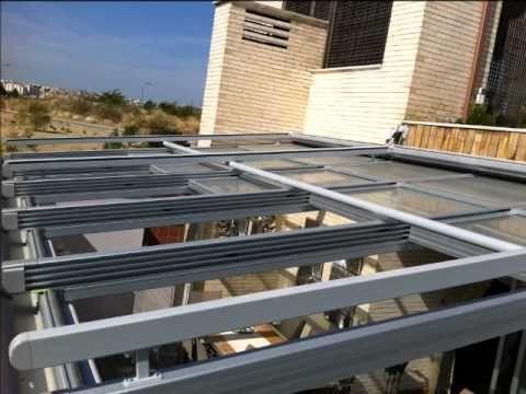 techo movil motorizado de cristal toldo veranda y stores