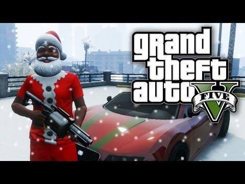 gta 5 thug life 26 part 1 christmas in los santos gta v online youtube - Gta V Christmas