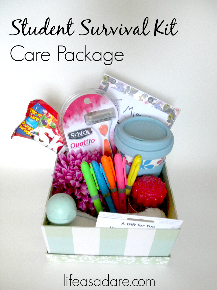 13 college care package item ideas care packages - Graduation gift for interior design student ...