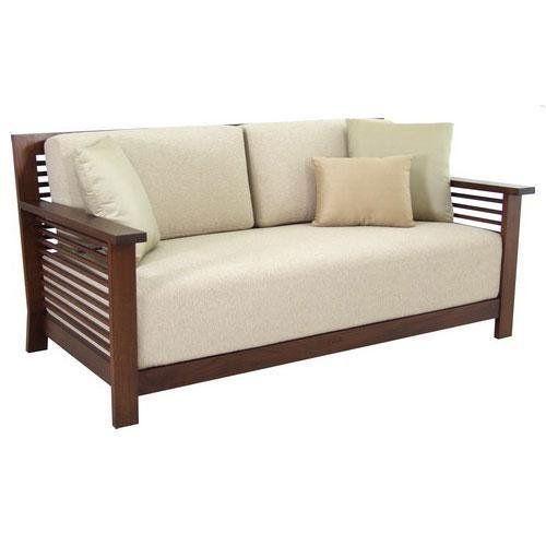 Wood Frame Sofa Casual Contemporary Microfiber Pub Style Sofa Wooden Sofa Designs Furniture Sofa