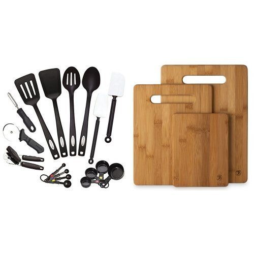 Farberware Classic 17piece Tool And Gadget Set And Totally Bamboo 3