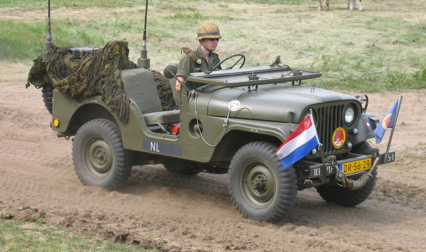 Charlie and andy make their getaway in one of these willys these small four wheel drive utility vehicles are considered the iconic world war ii jeep