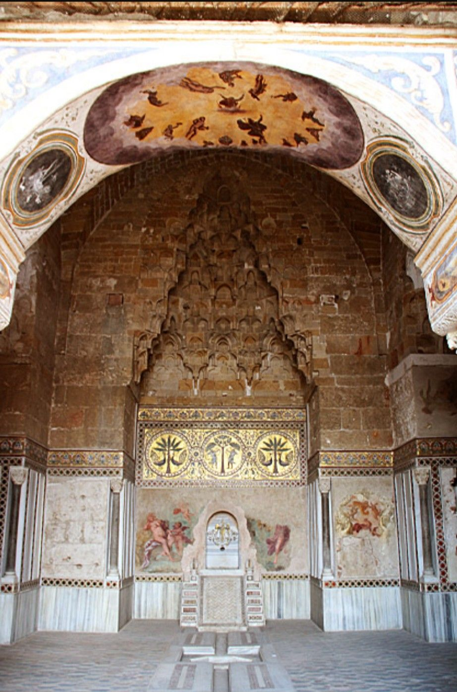 Design El Sizilien | La Zisa Palermo Islamic Architecture Under Former Islamic Rule