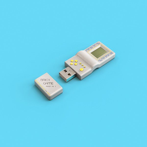Cool Usb Sticks That Look Like Vintage Gaming Consoles Other Retro Devices Memorias Usb Unidad Flash Usb Usb