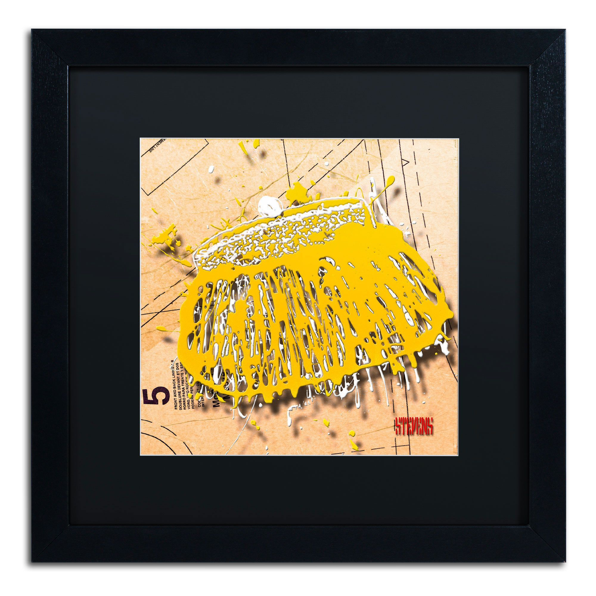 Snap Purse Yellow\' by Roderick Stevens Framed Photographic Print ...