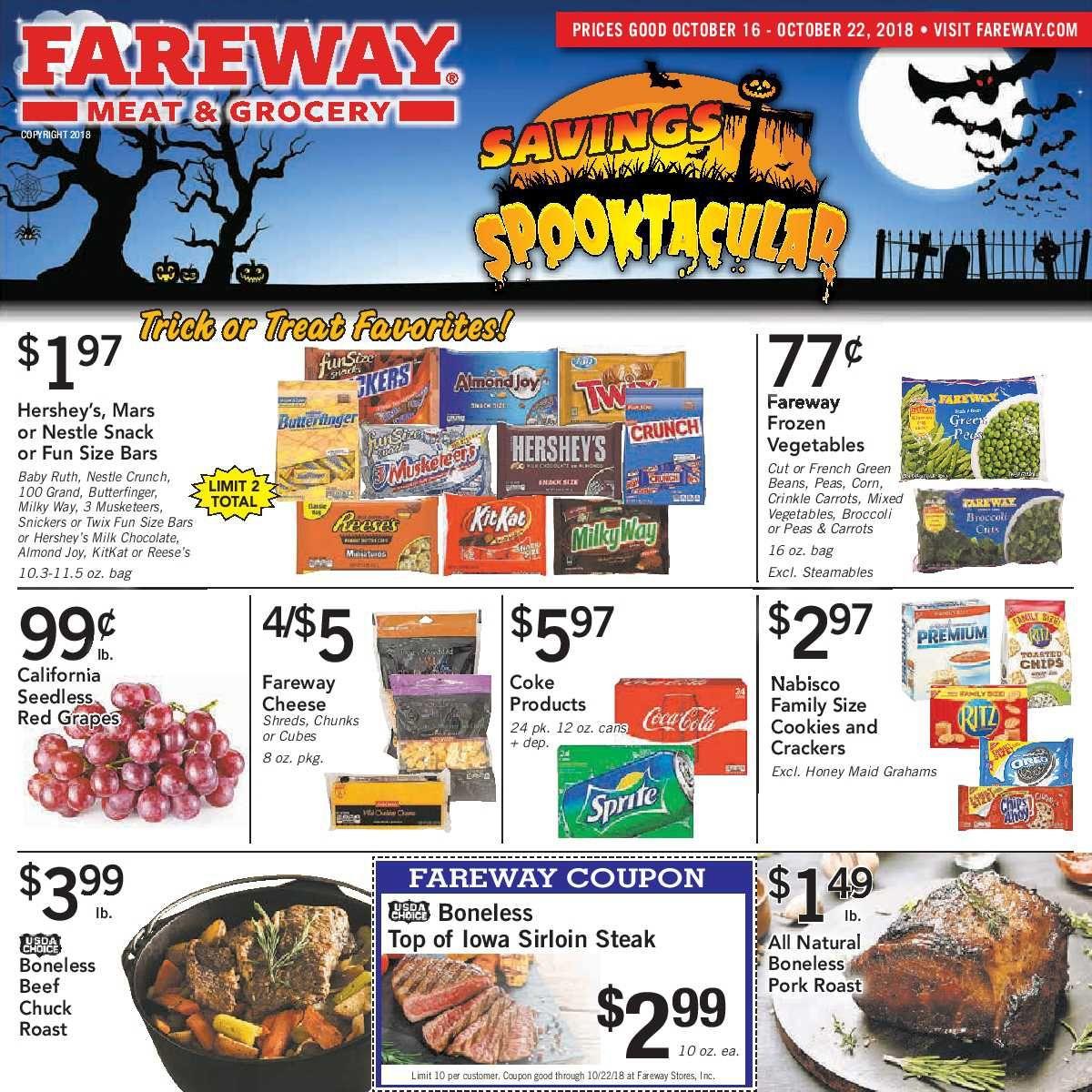 Fareway Weekly Ad Flyer January 15 21, 2019 Weekly Ad