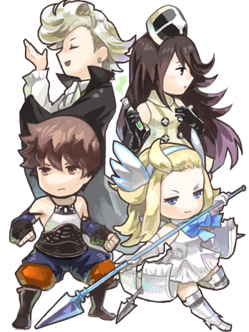 That Iteration Of Tiz As A Monk And Edea As A Valkyrie Look Rlly Cool And So Does Agnes And Ringabel I Was Never A Fan Of Bravely Default Chibi Cool