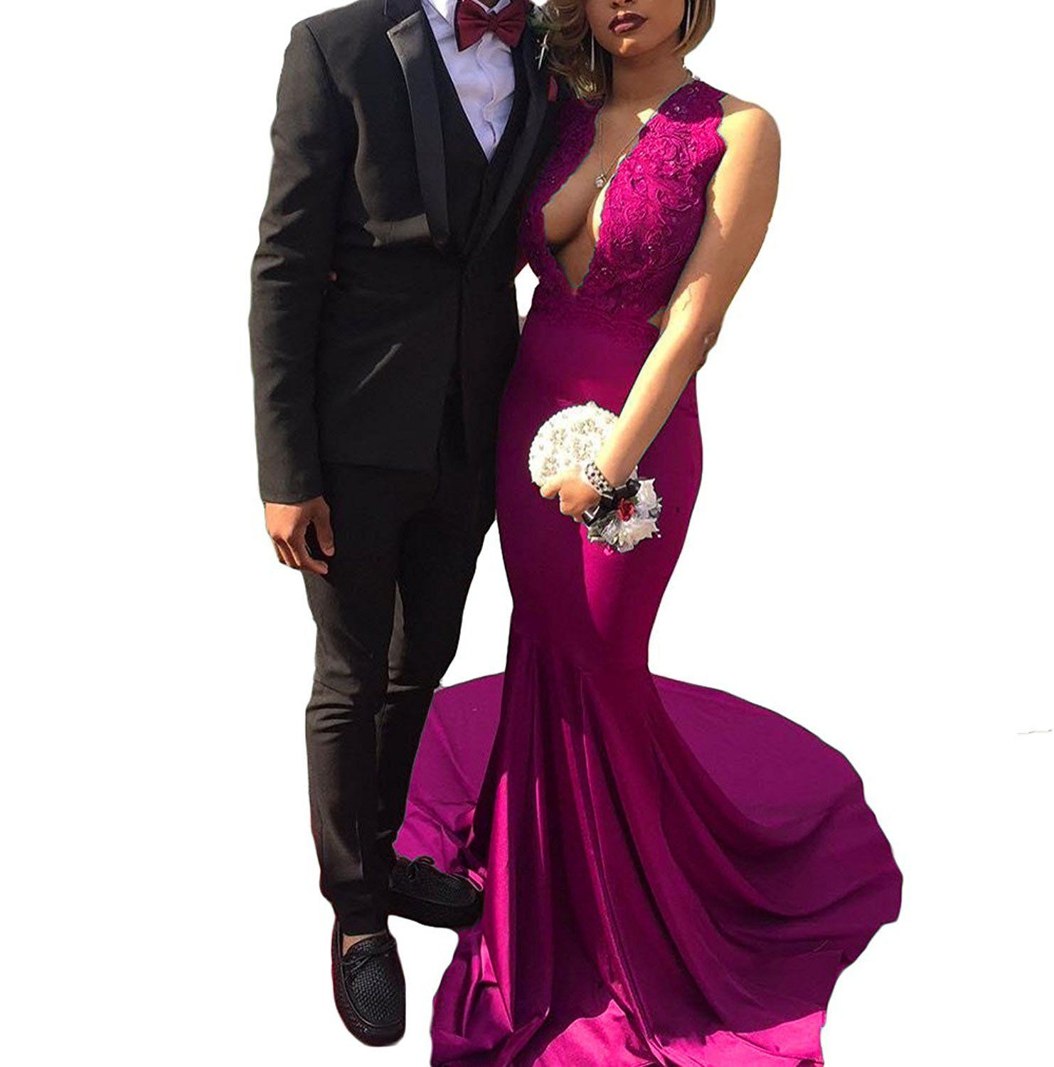 Fashionbride Women's Evening Dresses Long Mermaid Formal Party Gowns 2017 F451HP-US12