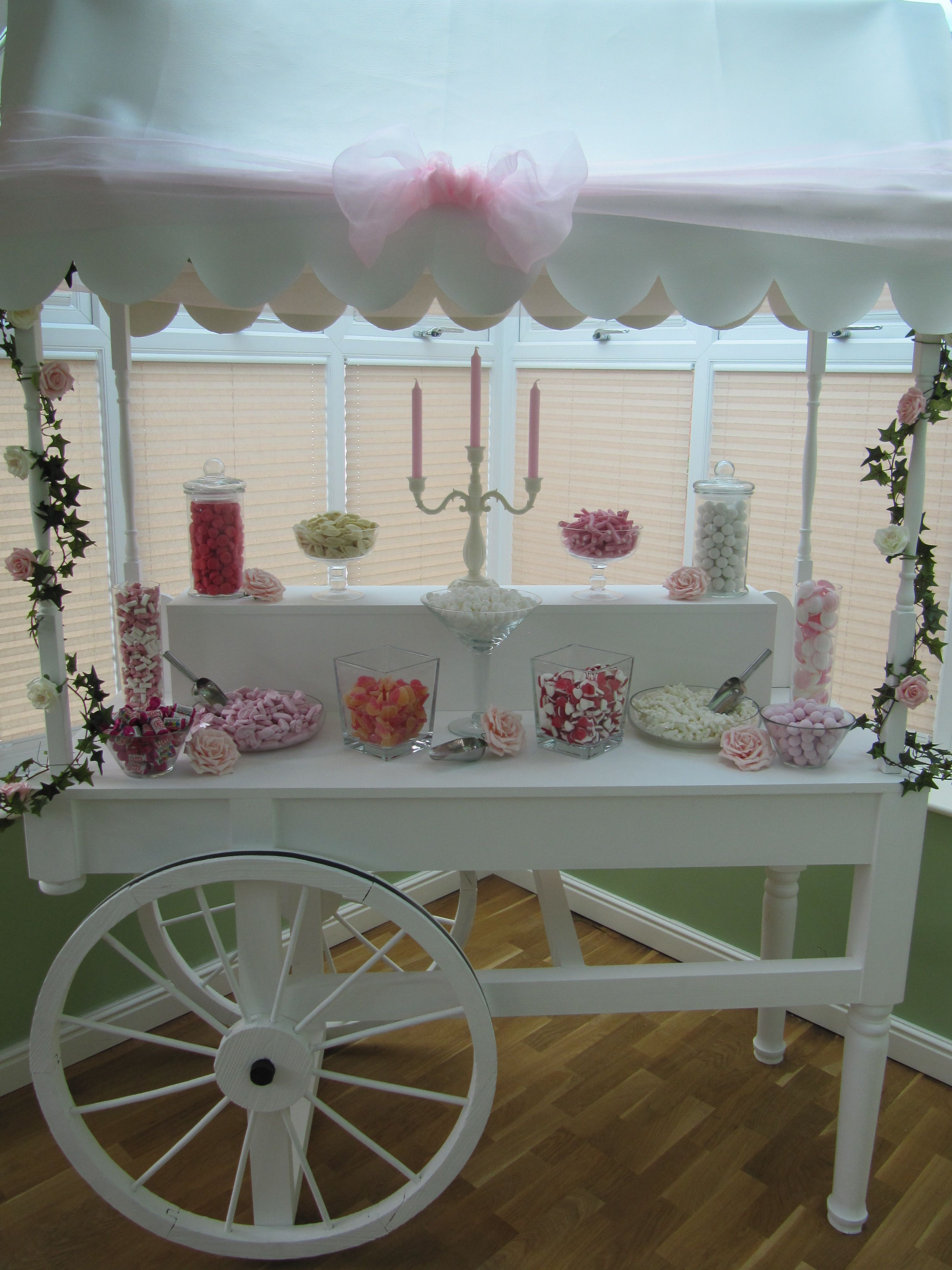 We Are Now Taking Bookings For Our Hand Crafted Wooden Candy Cart