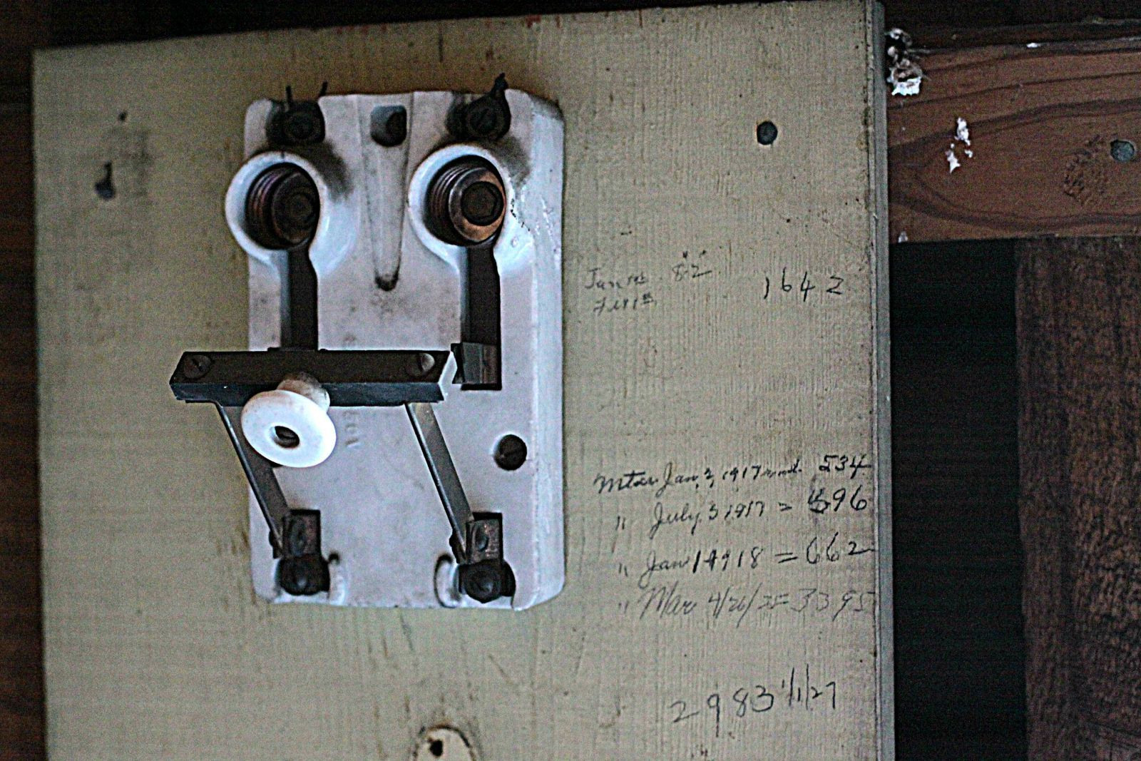 Old Electric Panel In Historic Berlin Md Home Slice Underground Electrical Conduit Installations Maryland Electrician