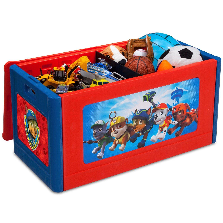 Delta Children Paw Patrol Store Organize Toy Box Affiliate Paw Patrol Delta Children In 2020 Toy Organization Delta Children Toy Boxes