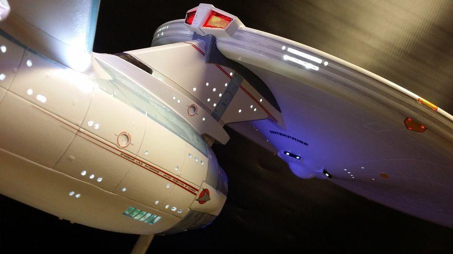 Star Trek Enterprise 1701 1/350 Refit LED lighting kit for