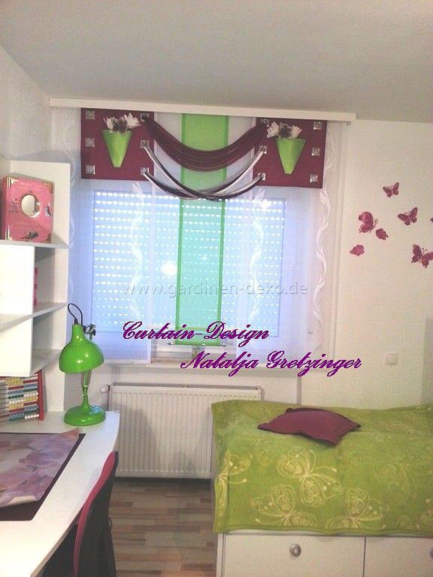 Kinderzimmer Vorhang Im Blumenvasen Design Http Www