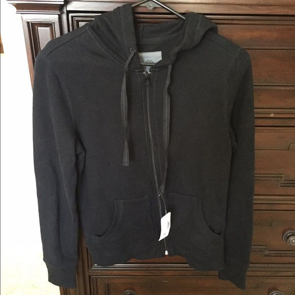 Woman's zip up hoody Woman's black zip up hoody and pockets. Brand new with tags. Size Small. Cheetah Other