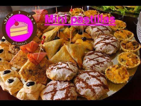 بسيطلات مربعين بحشوة صدور الدجاج بنكهة السمك بوفيه مالح و حلو Mini Pastilla Aux Poulet Youtube