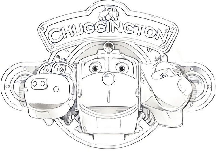 Read Morewilson Koko And Brewster From Chuggington Coloring Page