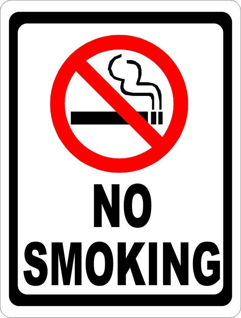 No Smoking Sign With Symbol  Symbols And Hotel Motel