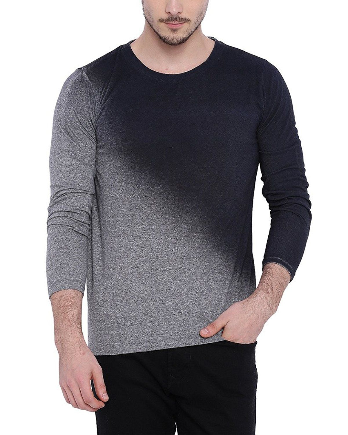 4c15e902d Campus Sutra Men s Round Neck T-shirt  Amazon.in  Clothing   Accessories