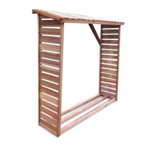 kaminholzregal f r ca 2 m brennholzregal regal brennholz kamin holz unter verandas ideas