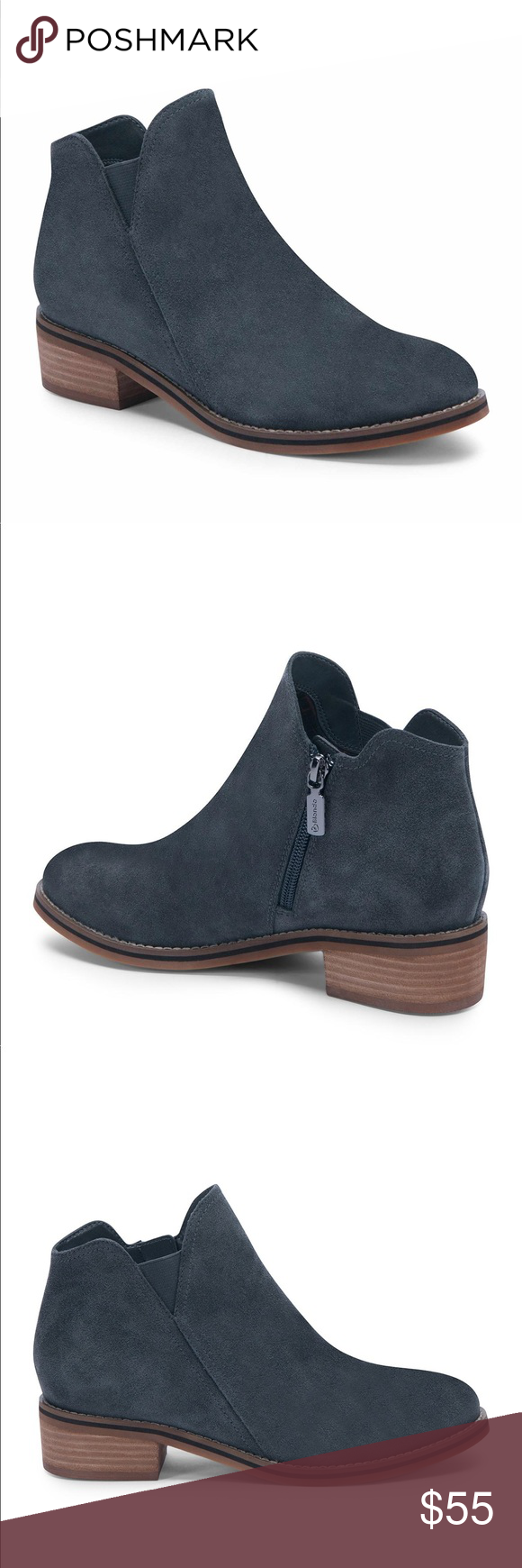 713c9a6d4a7 Blondo Lanka waterproof suede ankle bootie This abbreviated bootie is long  on style and practicality thanks