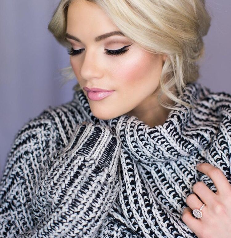 Whitney Carson Wedding Hair Style: Witney Carson Wedding Makeup