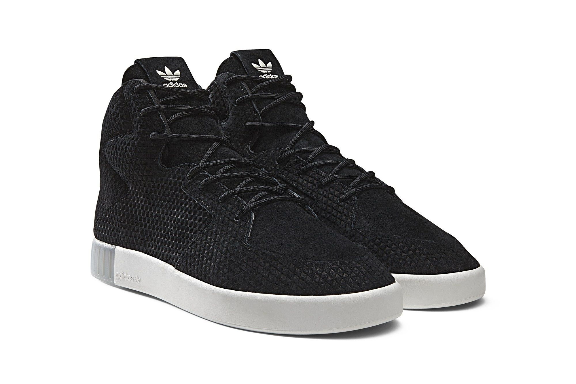 adidas Tubular Invader 2.0 Mens Shoes Black Beige