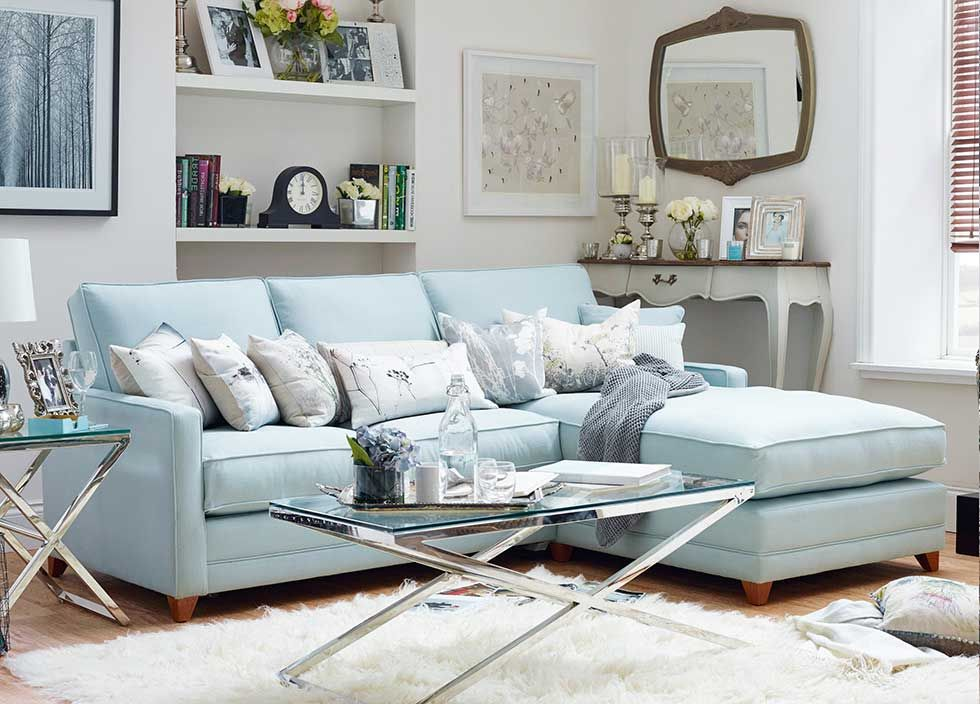 16 Ways To Use Blue In Your Interior Scheme Real Homes Light Blue Couch Living Room Light Blue Sofa Living Room Light Blue Couches