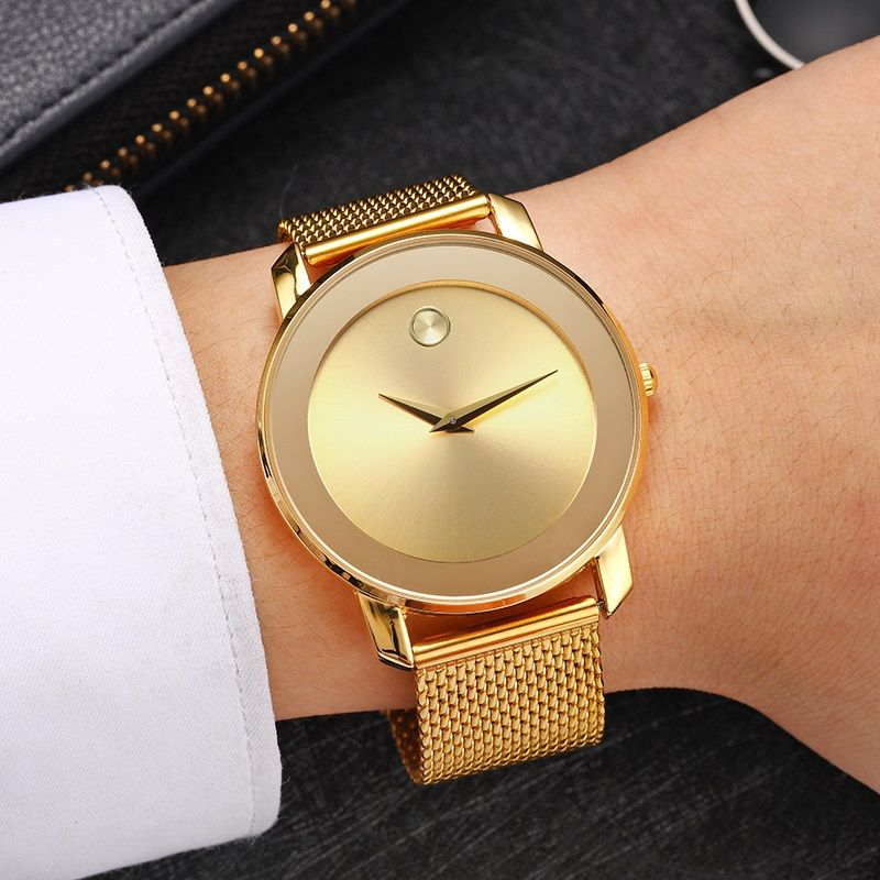 4c43d2b5412 Top Luxury Ladies Rose Gold Watch Women Famous Brand Minimalist Steel Mesh  Simple Geneva Watch Women Waterproof Quartz Watch   Price   38.99   FREE  Shipping ...