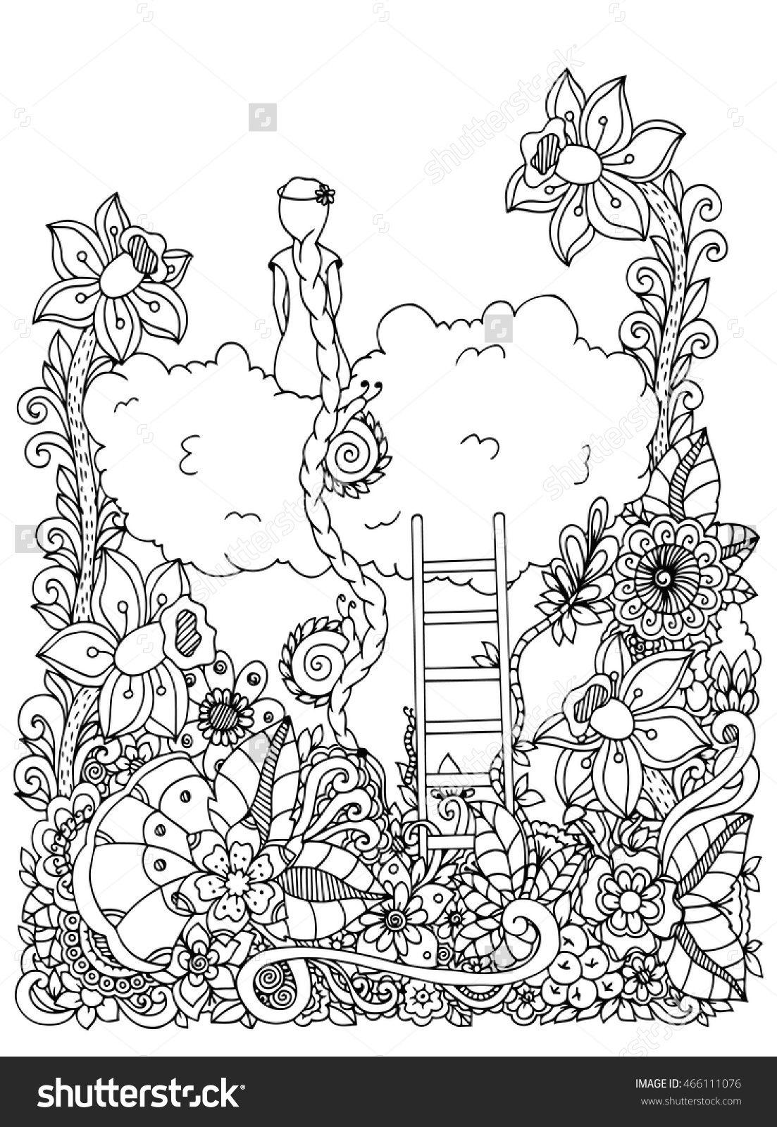 Pin de Patricia Iannone en Zentangles - Mujeres | Pinterest ...