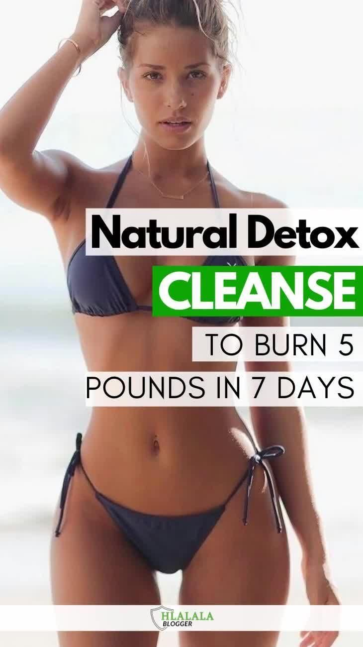 Natural Detox Cleanse For Weight Loss – Burn 5Lbs