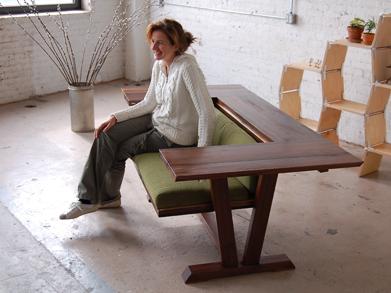 Bada Convertible Dining Table Desk Sofa