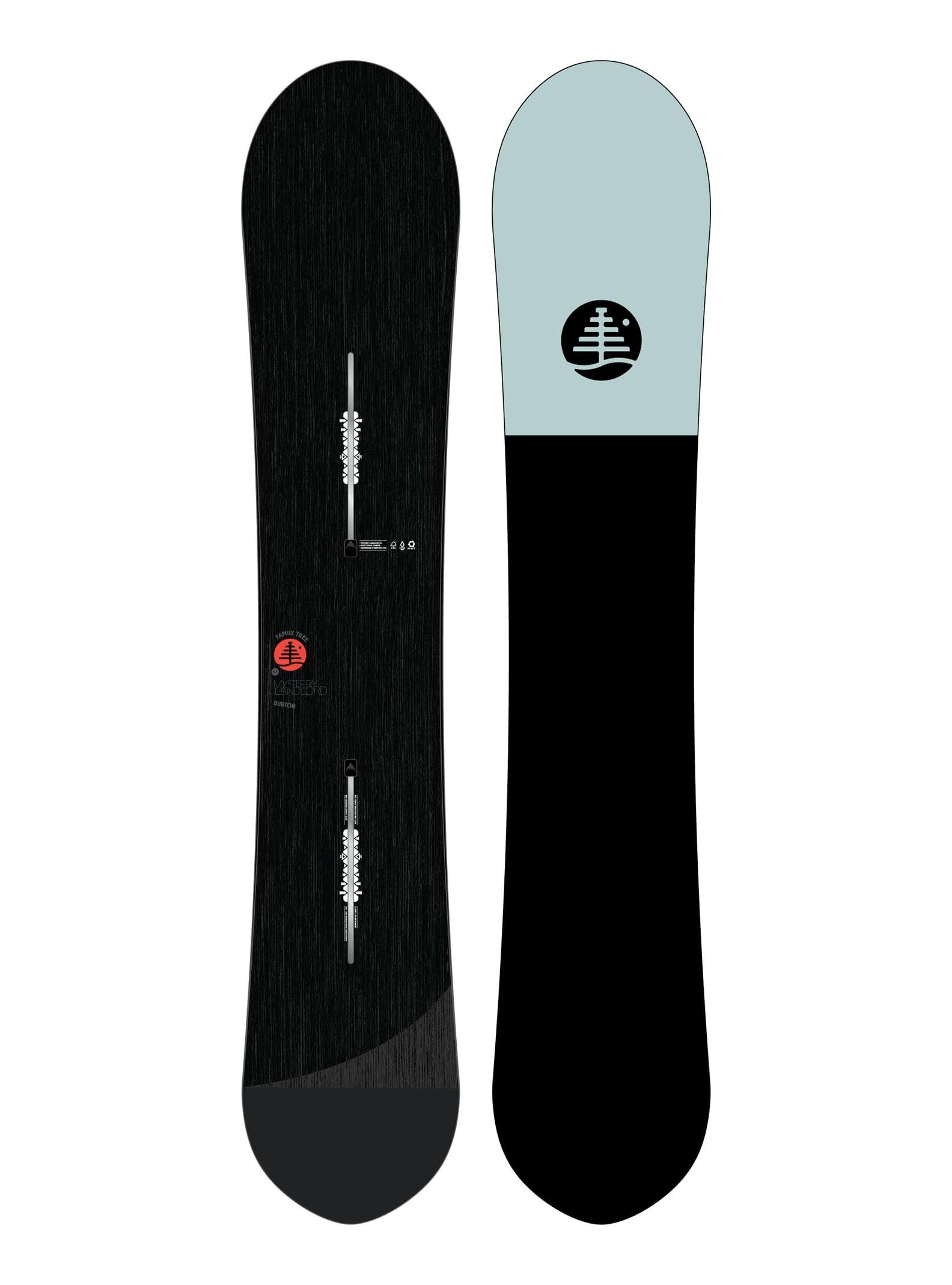 Men's Burton Family Tree Mystery Landlord Camber Snowboard