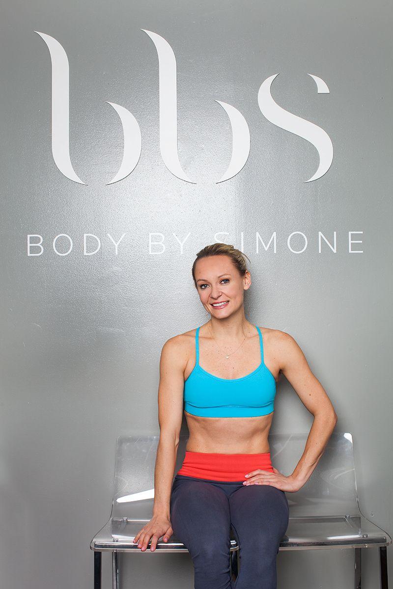 Fitness Guru Simone De La Rue Shares Her Secrets To Getting A Dancer S Body Dancers Body Unique Workouts Fitness